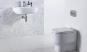 Edition back to wall pan and basin lifestyle with trance mirror v01-thumbnail