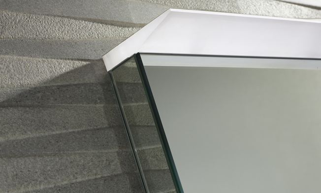 Induct LED Mirror light detail