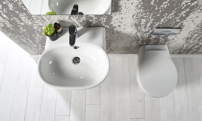 Memo 550mm basin and back to wall lifestyle v01