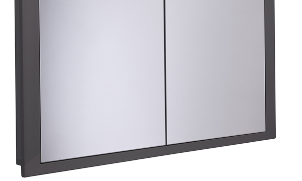 Scheme 1000mm Recessed Cabinet Gloss Dark Clay SCHCAB1075.GDC
