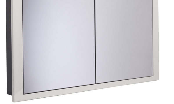 Scheme 1000mm Recessed Cabinet Gloss Mist larger recess SSCHCAB10120.GMS