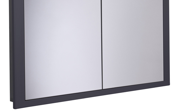 Scheme 1000mm Recessed Cabinet Matt Carbon SCHCAB10750.MCB