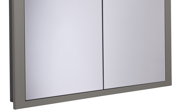Scheme 1000mm Recessed Cabinet Matt Light Grey SCHCAB1075