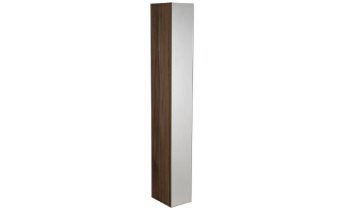Scheme 1400mm Mirrored Column Smoked Walnut SCHCD1400.SW