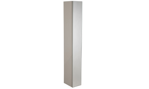Scheme 1400mm Mirrored Column Warm Grey SCHCD1400.GWG