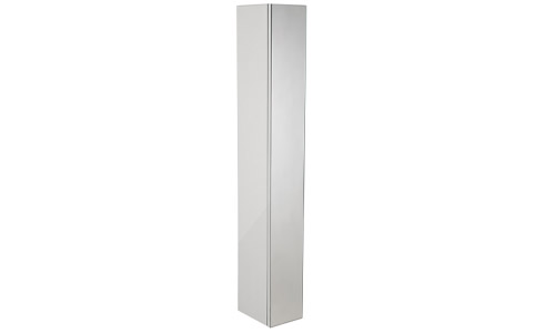Scheme 1400mm Mirrored Column white SCHCD1400.GW