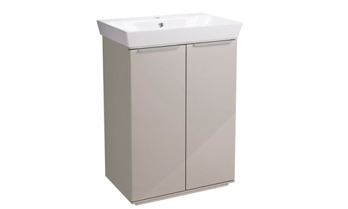 Scheme 600mm FM Gloss Calico Ceramic Basin SCH6F.GCA