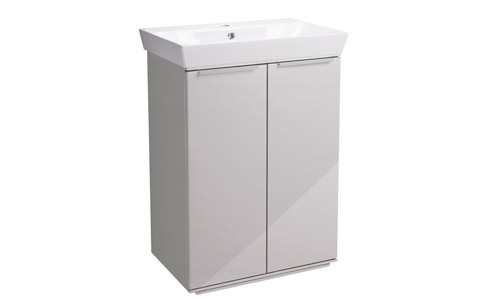 Scheme 600mm FM Gloss Mist Ceramic Basin SCH6F.GMS