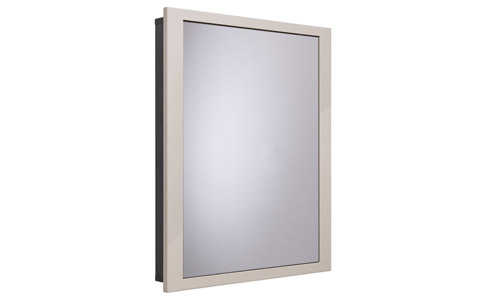 Scheme 600mm Recessed Cabinet Calico small depth SCHCAB675.GCA