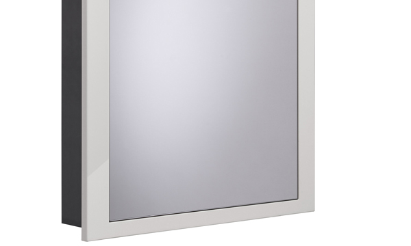 Scheme 600mm Recessed Cabinet Gloss Mist larger 120 recess SCHCAB6120.GMS