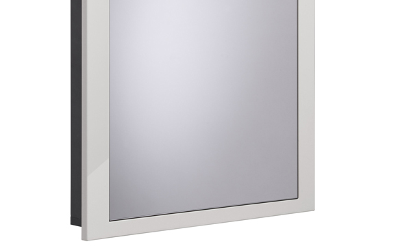 Scheme 600mm Recessed Cabinet Gloss Mist small depth SCHCAB6750.GMS