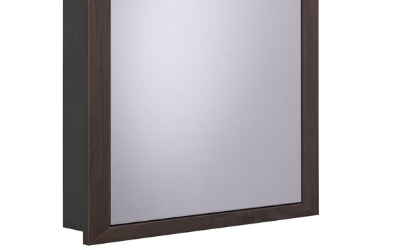 Scheme 600mm Recessed Cabinet Smoked Walnut larger 120 recess SCHCAB6120.SW
