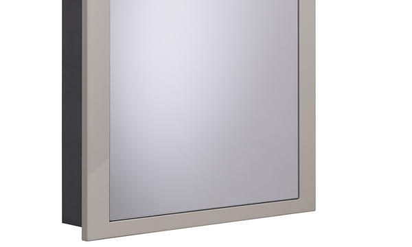 Scheme 600mm Recessed Cabinet Warm Grey larger 120 recess SCHCAB6120.GWG