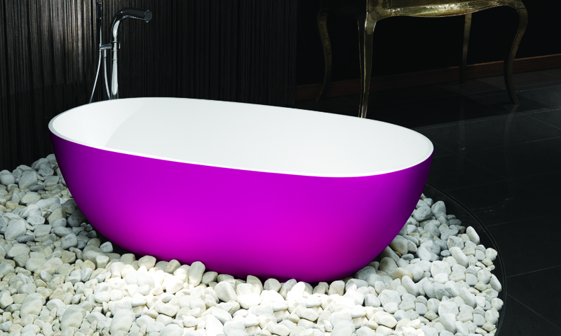 Waters Bright Pink Cloud Bath